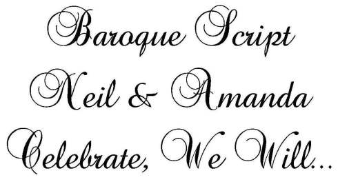 Fiddling With Fonts Celebrate We Will